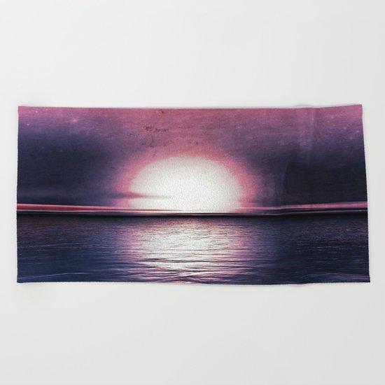 Sunset in Pegasus Beach Towel