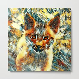 AnimalArt_Cougar_20170601_by_JAMColorsSpecial Metal Print
