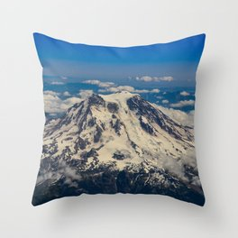 Pacific Northwest Aerial View - II Throw Pillow