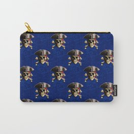 Jolly Roger In Pirate Hat Carry-All Pouch