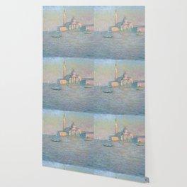 """Claude Monet """"The Church of San Giorgio Maggiore, Venice"""" Wallpaper"""