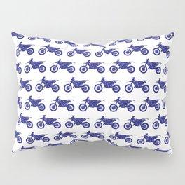 Blue Dirt Bikes Pillow Sham