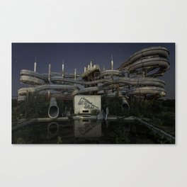 Wet'n'Wild Canvas Print