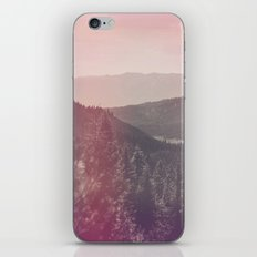 Light Leaked Forest iPhone & iPod Skin