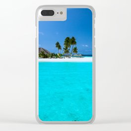 Bora Bora 2 Clear iPhone Case