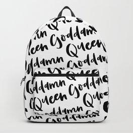 Goddamn Queen Backpack
