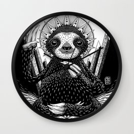 Son of Sloth Wall Clock