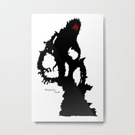 Shadow Man  Metal Print