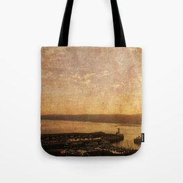 Calm Harbour Tote Bag