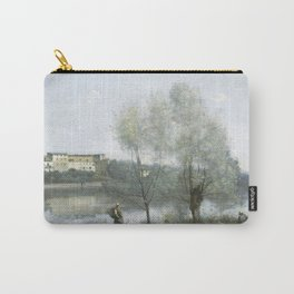"""Jean-Baptiste-Camille Corot """"Ville-d'Avray"""" (1) Carry-All Pouch"""