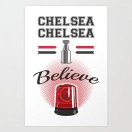Chelsea Dagger Art Print