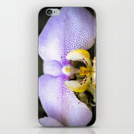 Macrophotography: Pink Orchid iPhone Skin