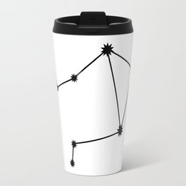 Libra Astrological Star Sign Minimal Travel Mug