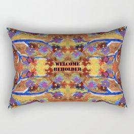Welcome Beholder Rectangular Pillow