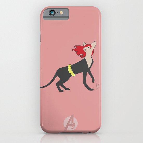 BlackCat Widow iPhone & iPod Case
