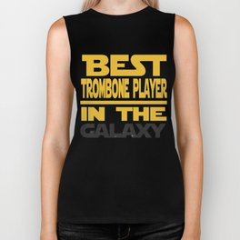 Best Trombone Player In The Galaxy Biker Tank