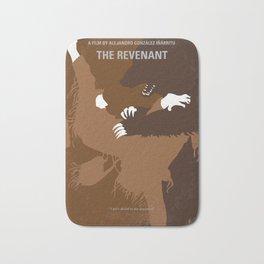 No623 My The Revenant minimal movie poster Bath Mat