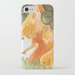 Forest Fire (Weatherwoman #3)  iPhone Case