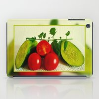 vegetables iPad Cases featuring Juicy Vegetables by Art-Motiva