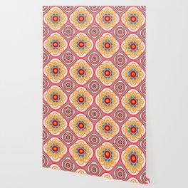 Scandi Candi Pink Wallpaper