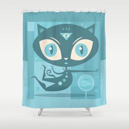 Sole Seeker Shower Curtain