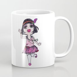 Chibi Flapper Coffee Mug