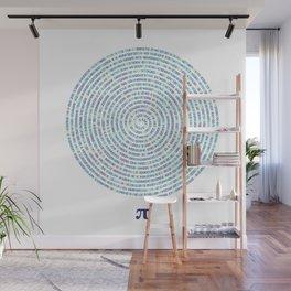 Infinite Pi Wall Mural