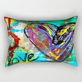 Compassionate Heart Rectangular Pillow