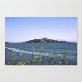 Wild Flower Bay Canvas Print