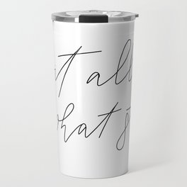 Let it go Travel Mug