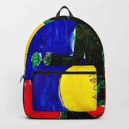 Sir/Madam Pompadour - Pop Art Surrealism Backpack