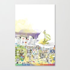 you're COLOR - Page 5 Canvas Print