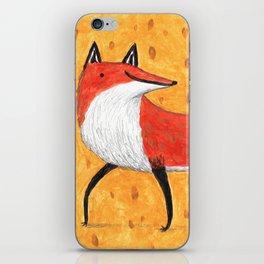 Sassy Little Fox iPhone Skin