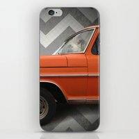 ford iPhone & iPod Skins featuring Chevron Ford by Habit {F}