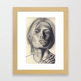 Rough Framed Art Print