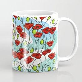 Field Poppies Coffee Mug