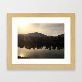 Flathead National Forest Framed Art Print
