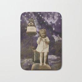 Little Lady of Celestial Night by HJ Tanner Studio Bath Mat