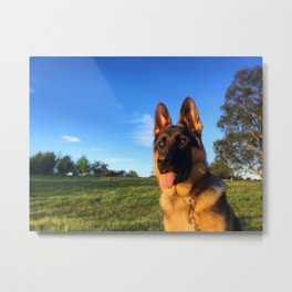 Caspian at Dusk Metal Print