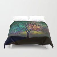 celestial Duvet Covers featuring Celestial Phenomenon by Klara Acel