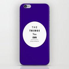Possession iPhone & iPod Skin