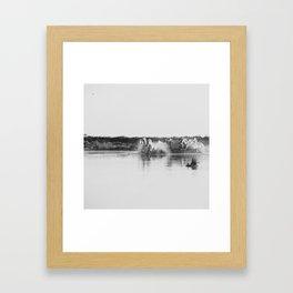 Camargue Horses V Framed Art Print
