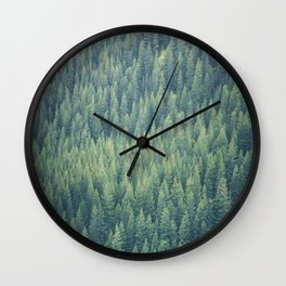 Forest Immersion Wall Clock