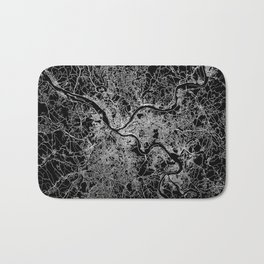pittsburgh map Bath Mat