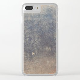 The texture of the metal sheet and coating Clear iPhone Case