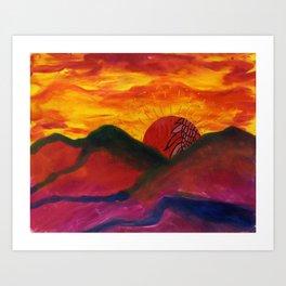 Tucson Art Print