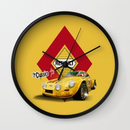 AMARILLO · Renault Alpine Wall Clock