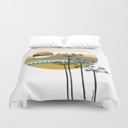 Hunting High And Low Duvet Cover