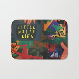 Little White Lies Bath Mat