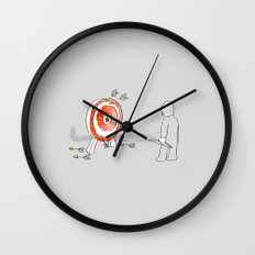 Off Target Wall Clock
